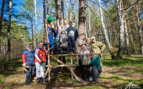 Лесной домик на дереве