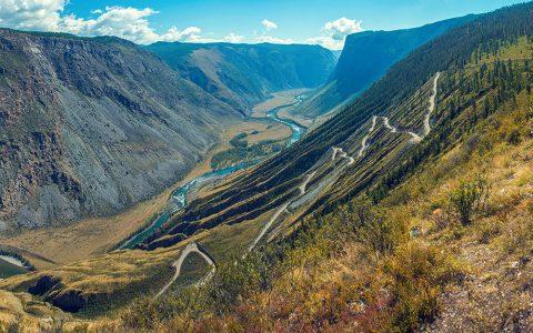 Путешествие в долину Чулышмана, перевал Катуярык, водопад Учар