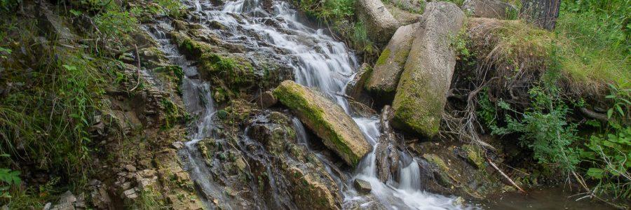 Ташаринский водопад