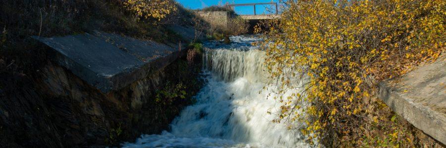 Рощинский водопад