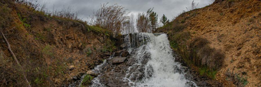 Бурановский водопад