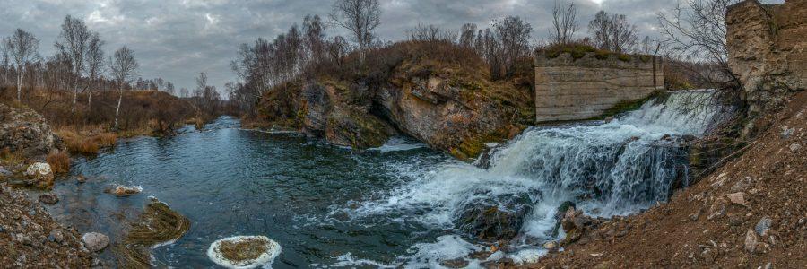 Вассинский водопад