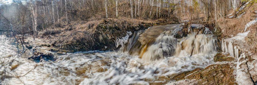 Малиновский водопад