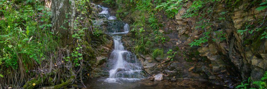 Улыбинский водопад